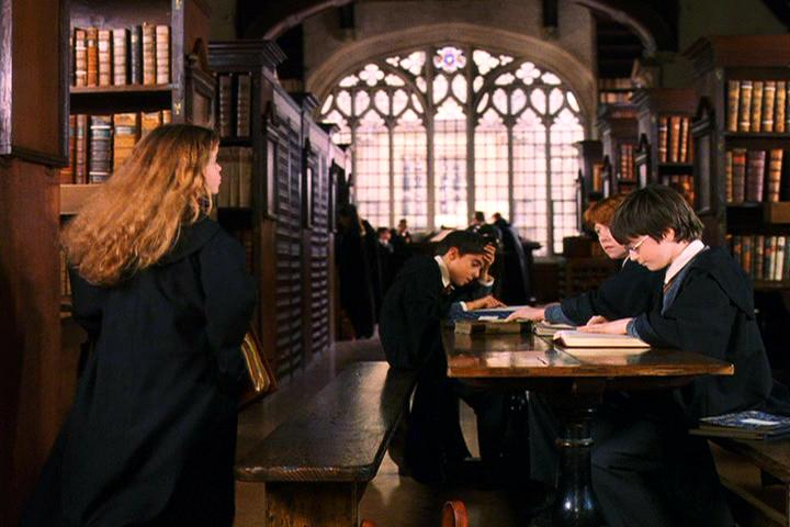 Harry Potter at Bodleian Divinity School