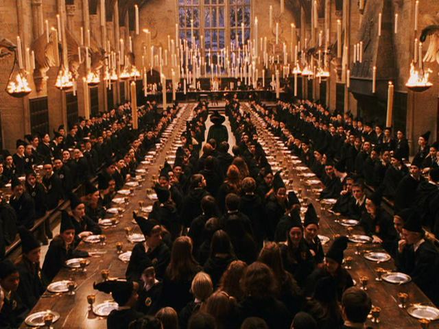 Harry Potter Great Hall 1