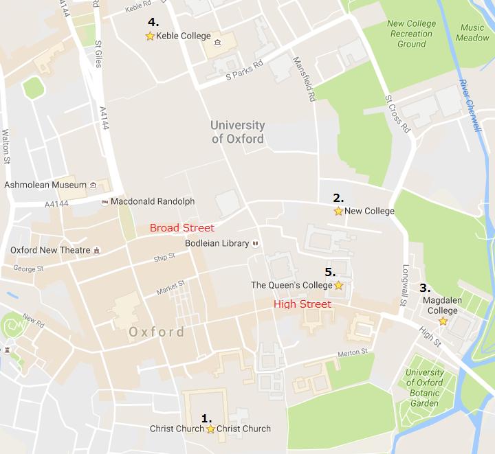 screen captured at Google Map